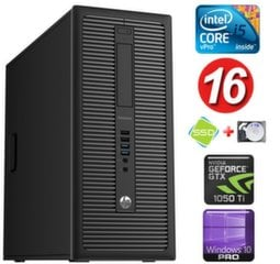 HP 600 G1 MT I5-4590 16GB 120SSD+1TB GTX1050Ti 4GB WIN10Pro