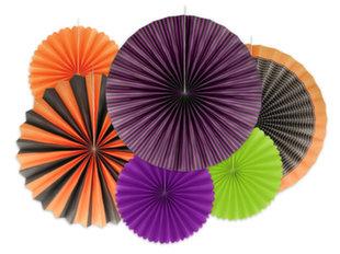 Dekoratiivsed rosetid Hocus Pocus Mix, 1 pakk/6 tk hind ja info | Peokaunistused | kaup24.ee