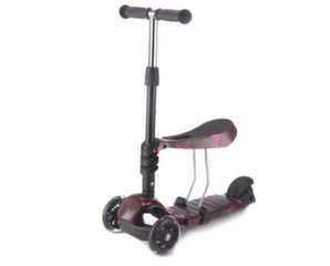 Tõukeratas Kikkaboo Scooter 3 in 1 Ride and Skate Thunder