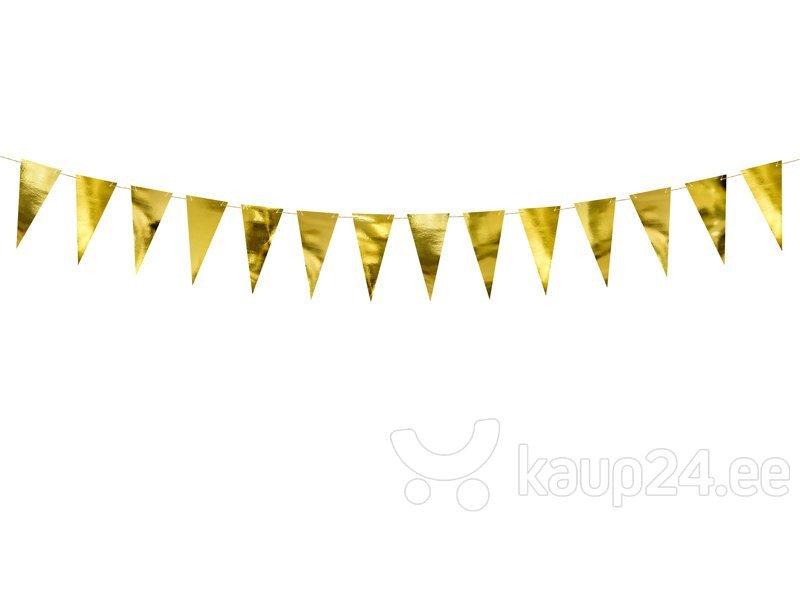 Бумажная гирлянда Bunting Gold 2,15 м