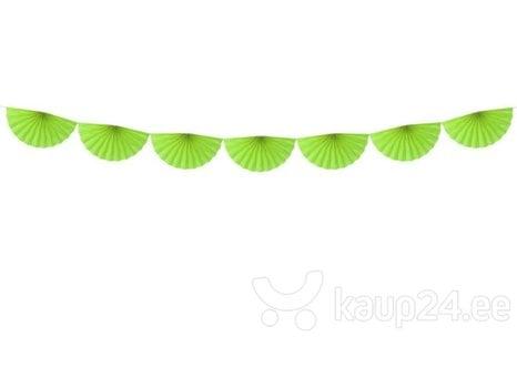 Гирлянда Rosettes Green Apple 40 см х 3 м (1 кор/ 50 шт)