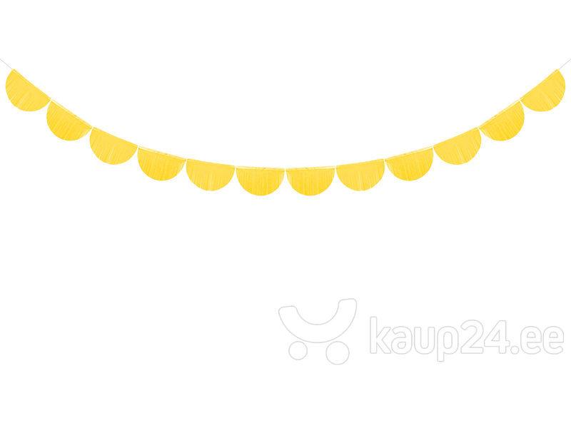 Гирлянда Fringe Yellow 20 см x 3 м