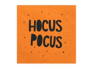 Салфетки Hocus Pocus black 33x33 см (1 упаковка / 20 шт.)