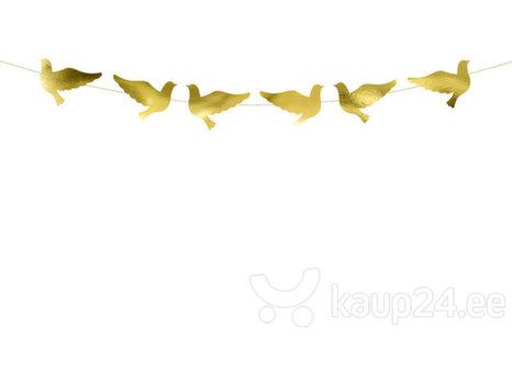 Гирлянда Doves Gold 86 см