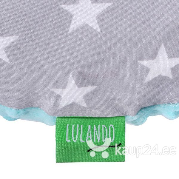 Imetamispadi LULANDO Minky, Mint / Gray stars on white soodsam