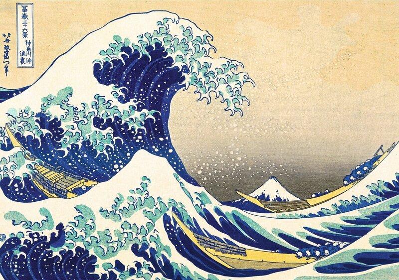 Pusle Trefl Hokusai, 1000-osaline hind