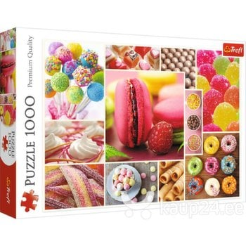Pusle Trefl Candy, 1000-osaline hind ja info   Pusled   kaup24.ee