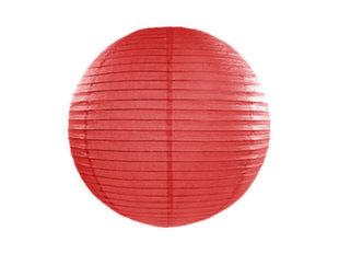 Paberist rippuv kaunistus 20 cm, punane