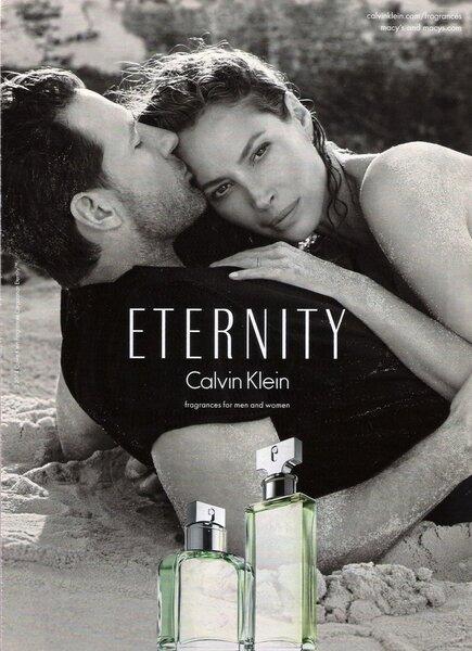 Parfüümvesi Calvin Klein Eternity EDP naistele 15 ml Internetist
