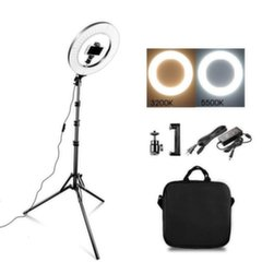 Valgusti Ring Light 34cm' 35W LED + alus