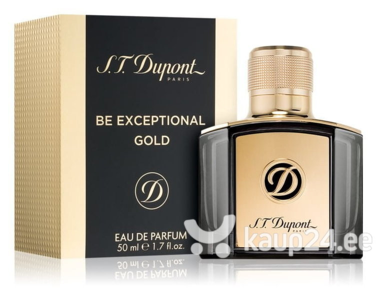 Parfüümvesi S.T. Dupont Be Exceptional Gold EDP meestele 50 ml