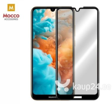 Mocco Full Glue 5D Tempered Glass Full Coveraged with Frame Huawei Y6 (2019) Black