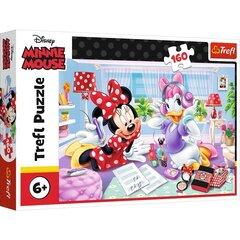 Pusle Trefl Disney Minnie Hiir Minnie Mouse, 160-osaline hind ja info | Pusled | kaup24.ee