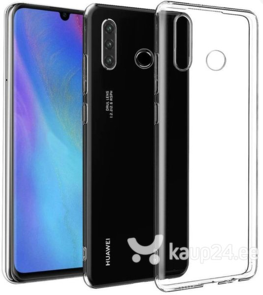 Swissten Clear Jelly Back Case 0.5 mm Silicone Case for Huawei P30 Lite Transparent