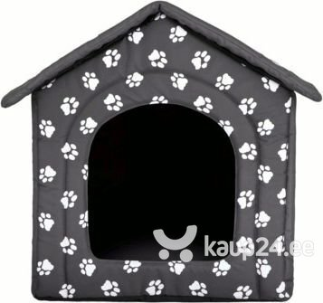 Maja-pesa Hobbydog R6 käpad, 76x72x74 cm, hall