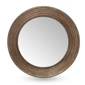 Peegel TORINO 82x82 cm, pruun