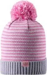 Tüdrukute müts Lassie Beanie Neida Light grey, 7287669321046