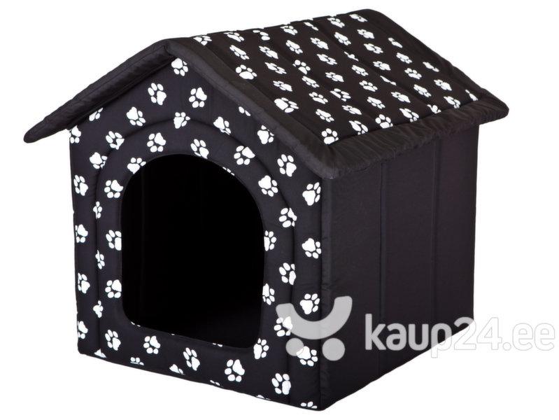 Maja-pesa Hobbydog R6 käpad, 76x72x74 cm, must