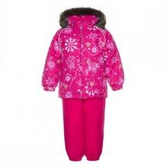 Huppa talvekomplekt Avery: püksid ja jope tüdrukutele, fuksia, 94263