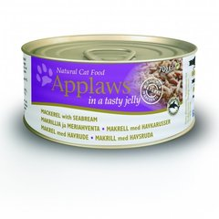 Applaws Jelly Mackerel & Seabream, 70 g