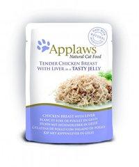 Applaws konserv-želee kana ja maksaga, 70 g
