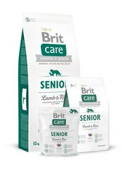 Brit Care Senior All Breed Lamb & Rice 3 kg hind ja info | Brit Care Senior All Breed Lamb & Rice 3 kg | kaup24.ee