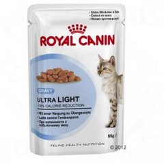 Konsrerv kassidele Royal Canin Ultra Light Pouch 85 g