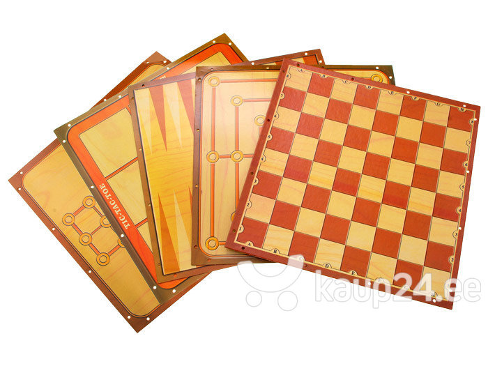 "6 mängu komplekt, ""Chess Sets"" soodsam"