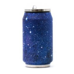 Termospudel Yoko Design Canette Galaxy 1502-7942, sinine, 0,28 l