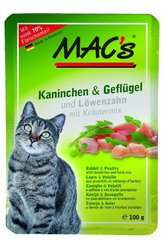 Mac's Rabbit & Poultry 100 g