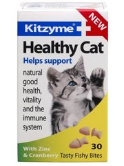 Vitamiinid kassidele Healthy Cat, 30 tabl.