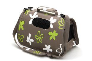 Comfy loomade transportkott Vanessa, erinevad suurused, khaki värvi hind ja info | Transportkorvid, puurid | kaup24.ee