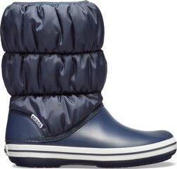 Talvesaapad Crocs™ Winter Puff Boot, Navy/White