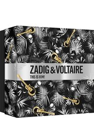 Komplekt meestele Zadig & Voltaire This is Him!: tualettvesi EDT 50 ml + dušigeel 100 ml