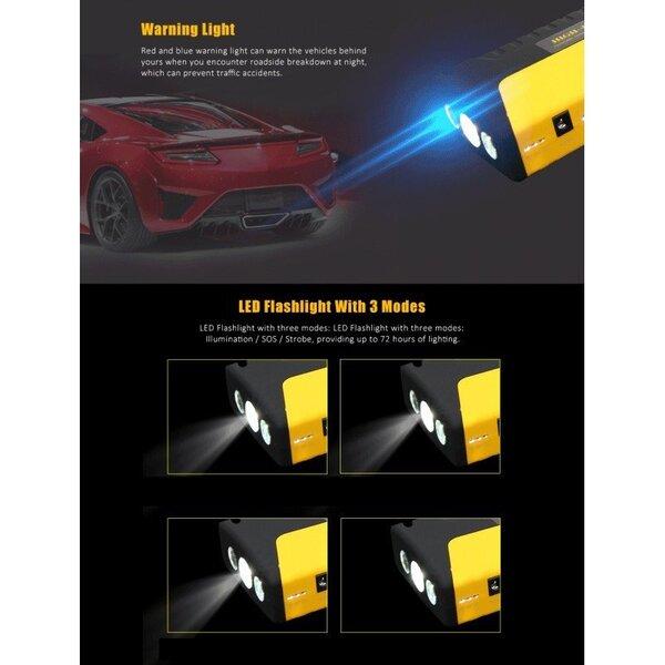 Auto käivitusabi - Booster Hight power