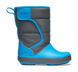 Crocs™ talvesaapad Lodgepoint Snow Boot Kid's, Kiltkivi Hall/Ookean