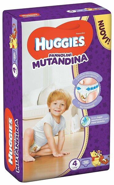 Подгузники - трусики Huggies Mutandina, размер 4 (9-14 кг), 36 шт.