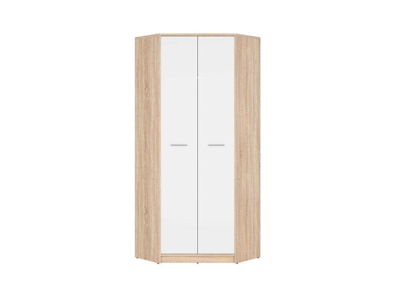 Угловой шкаф Nepo Plus SZFN2D, цвета дуба/белый
