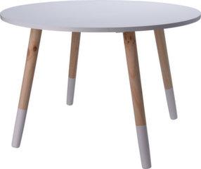 Lastelaud Clouds, valge/pruun hind ja info | Laste lauad ja toolid | kaup24.ee