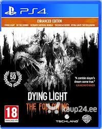 Videomäng Dying Light Enhanced Edition PS4
