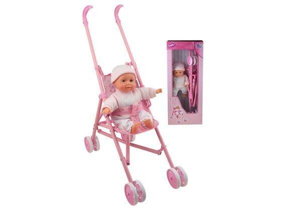 Кукла с коляской Happy People