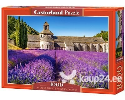 Pusle Puzzle Castorland Lavender Field in Provence, France, 1000 tk
