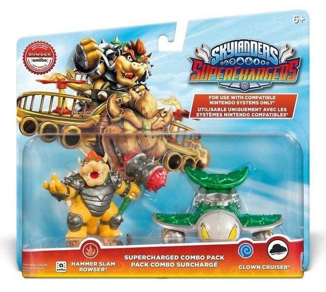 Skylanders: SuperChargers Combo Pack - Hammer Slam Bowser, Clown Cruiser