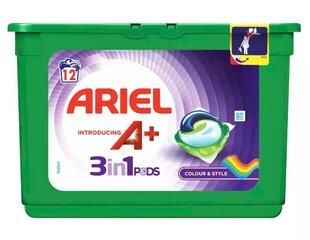 Pesukapslid ARIEL + 3in1 Pods, 12 pesukorda