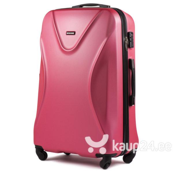 Средний чемодан Wings Predator M, красный цена