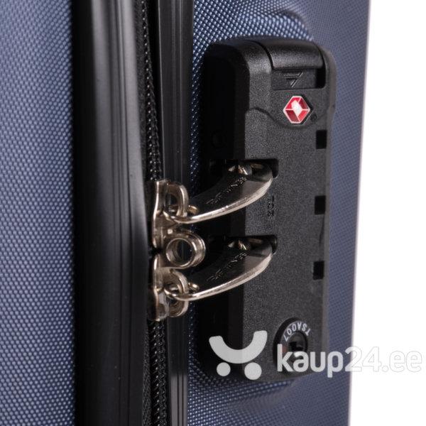 Средний чемодан Wings Predator M, красный отзыв