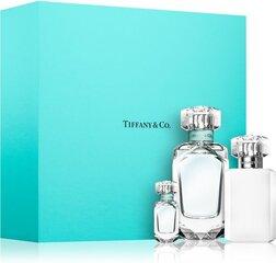Komplekt naistele Tiffany & Co Tiffany: EDP naistele 75 ml + EDP naistele 5 ml + ihupiim 100 ml
