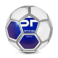 Jalgpalli pall Spokey Mercury, suurus 5, valge/sinine