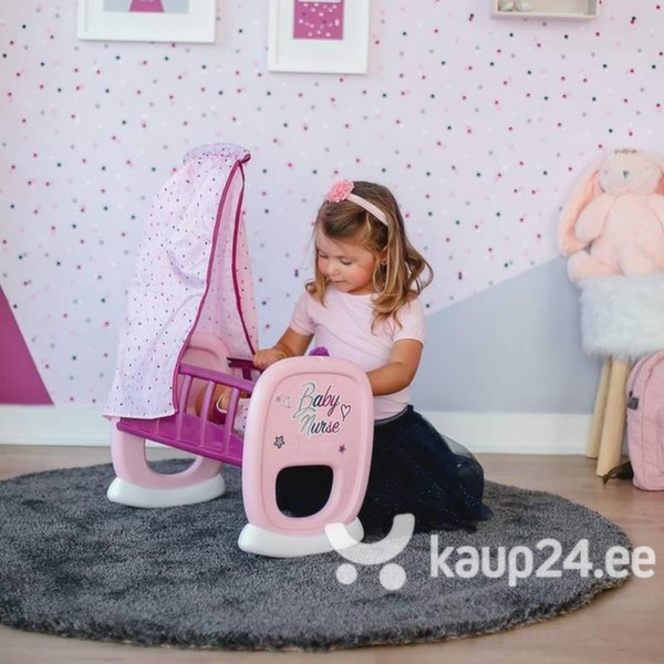 Кроватка-колыбель для куклы Smoby, 220338 интернет-магазин