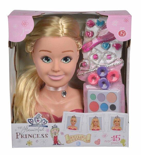 Голова куклы с аксессуарами Simba Steffi